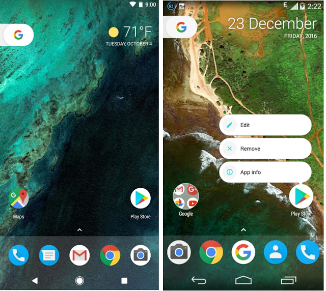 How to make Nova Launcher look and feel like Pixel Launcher