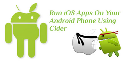 run iOS app on android device using Cider apk