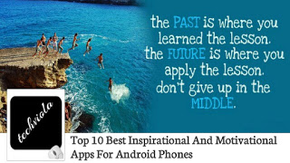 inspirational and motivational apps