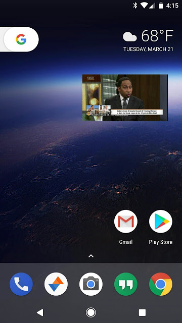 Android O picture in picture mode