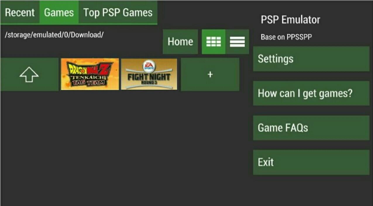 ultraPSP-emulator