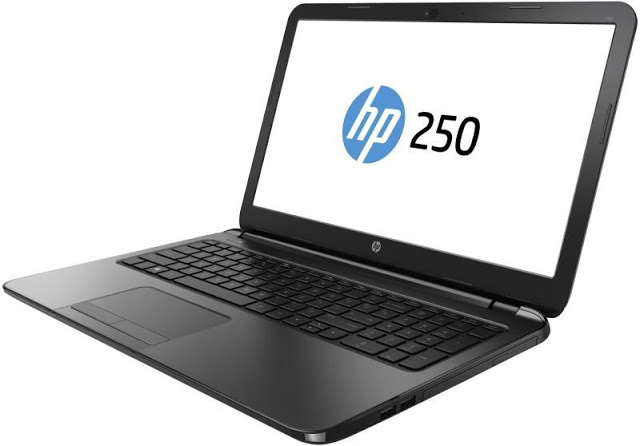 Side angle view of HP 250 G5