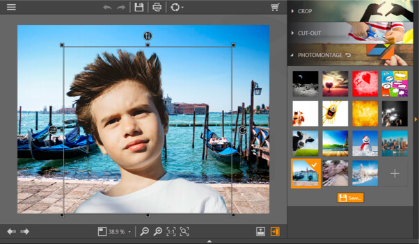 filmora photo cutter