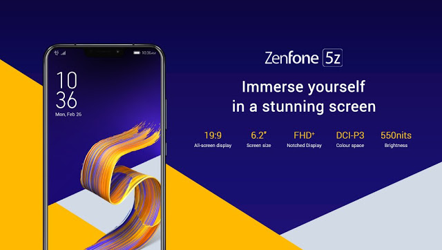 asus zenfone 5z design specifications
