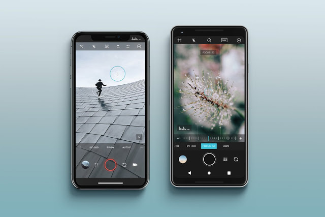 Moment Pro Camera features