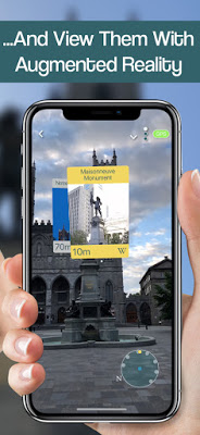 WikiCompass - AR Wikipedia Viewer